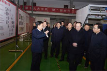 省政协副主席李晓波莅临集团卡乐仕产业园调研